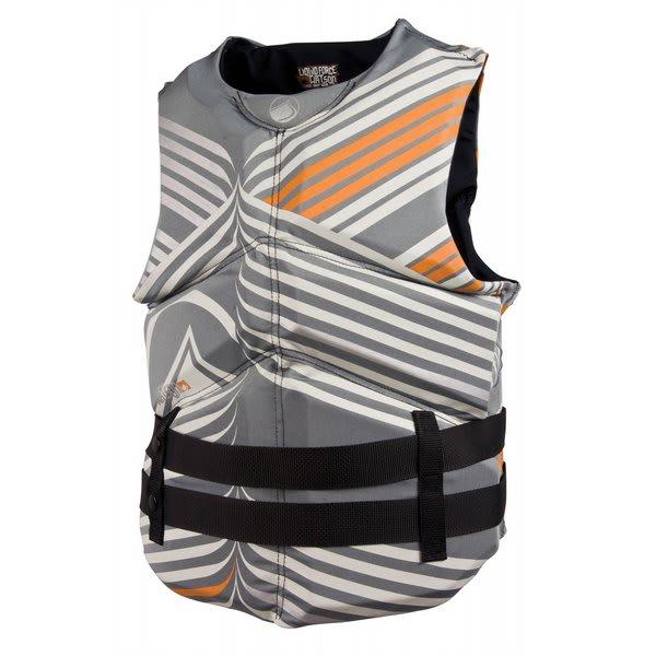 Liquid Force Watson Cga Wakeboard Vest Grey / Orange U.S.A. & Canada