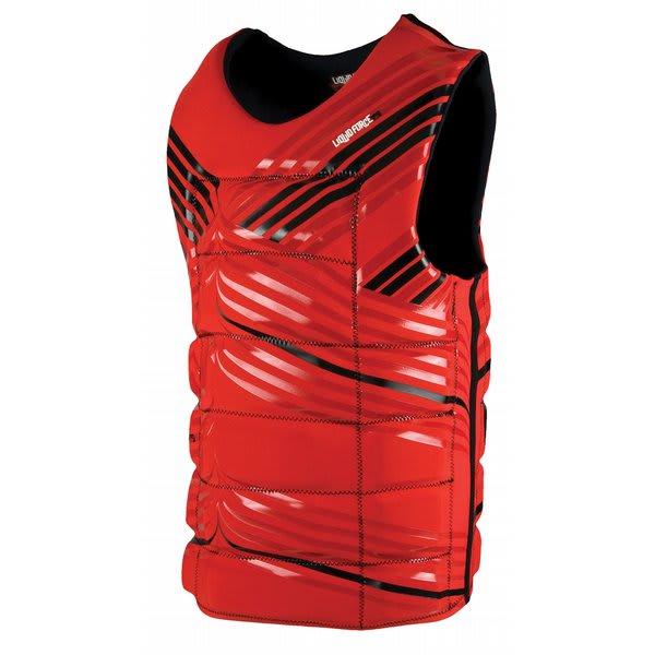 Liquid Force Watson Wakeboard Comp Vest Red U.S.A. & Canada