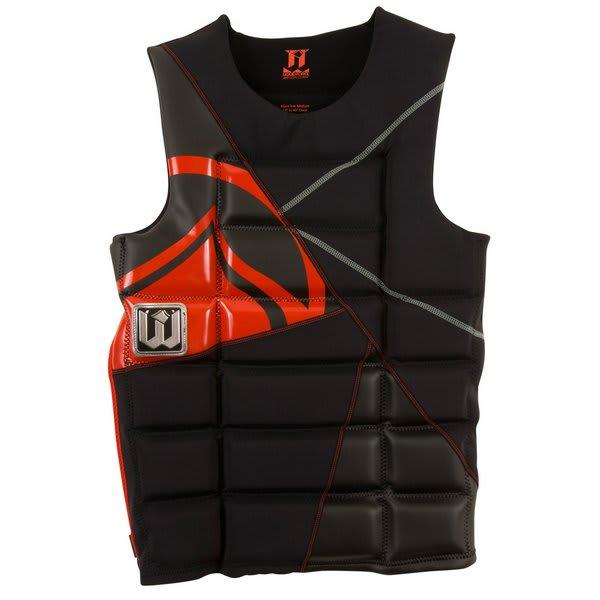 Liquid Force Watson Comp Wakeboard Vest Black / Red U.S.A. & Canada