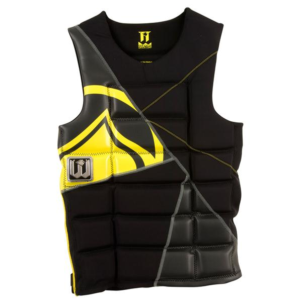 Liquid Force Watson Comp Wakeboard Vest Black / Yellow U.S.A. & Canada