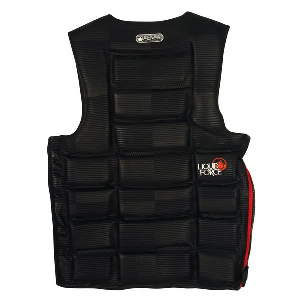 Liquid Force Watson Comp Wakeboard Vest Black U.S.A. & Canada