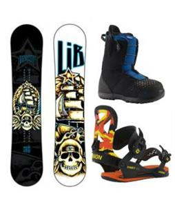 Lib Tech Banana Blaster Snowboard Package