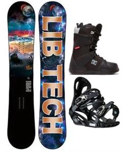 Lib Tech Burtner Box Scratcher Snowboard Package