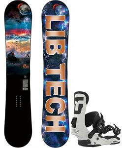Lib Tech Burtner Box Scratcher Snowboard w/ Union Force Bindings