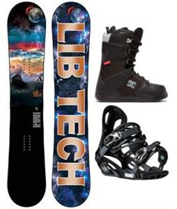 Lib Tech Burtner Box Scratcher Wide Snowboard Package