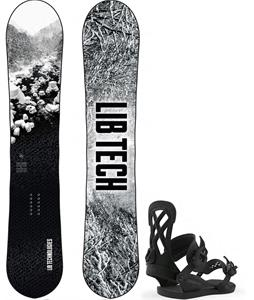 Lib Tech Cold Brew Snowboard w/ Union Contact Pro Bindings