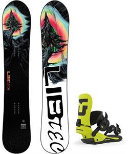 Lib Tech Dynamo Snowboard w/ Union Strata Bindings