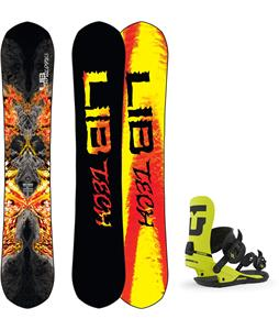 Lib Tech Hot Knife Snowboard w/ Union Strata Bindings