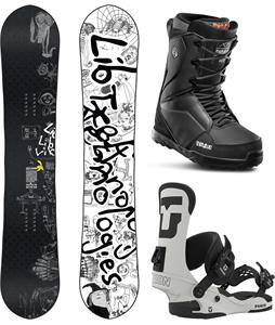 Lib Tech Skate Banana Brandon Reis Snowboard Package