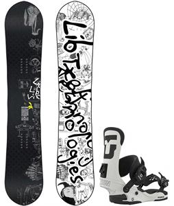 Lib Tech Skate Banana Brandon Reis Snowboard w/ Union Force Bindings