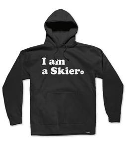 Line I Am A Skier Pullover Hoodie