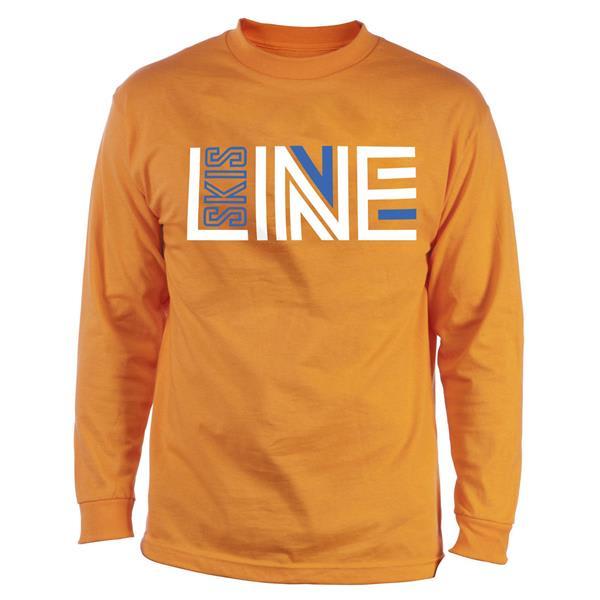 Line Logo Wicking L / S Baselayer Top Orange U.S.A. & Canada