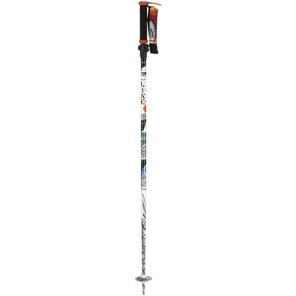 Line Pollard' S Paint Brush Ski Poles Black U.S.A. & Canada