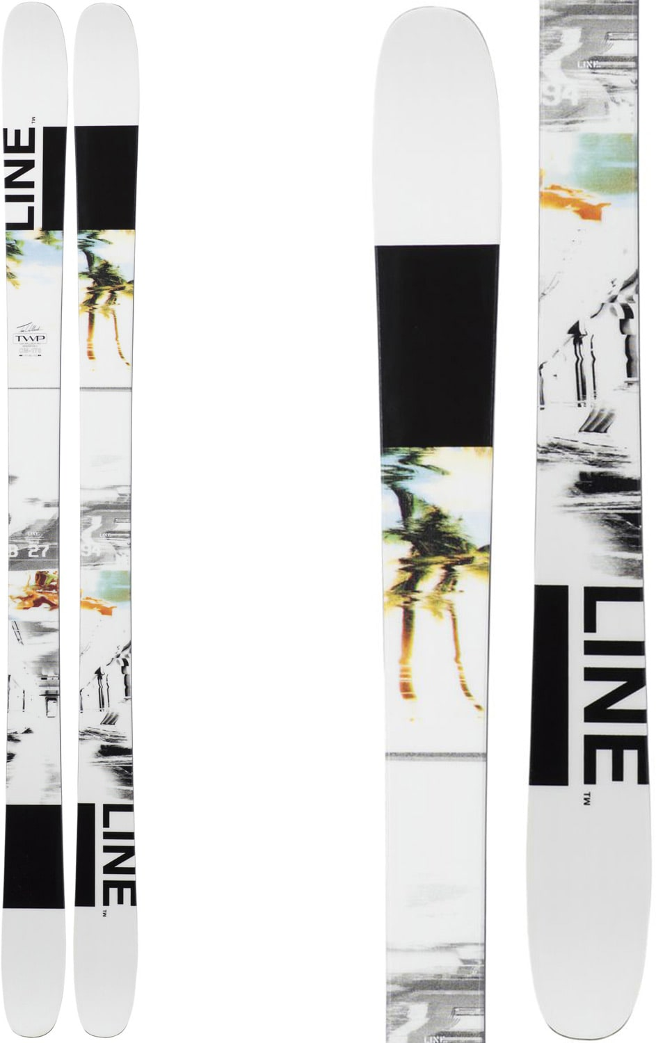 Water Skis For Sale >> Line Tom Wallisch Pro Skis 2019