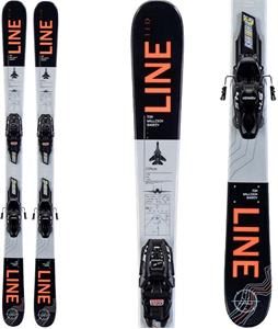 Line Tom Wallisch Shorty Skis w/ FDT 4.5 Bindings