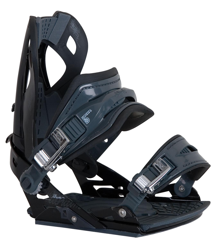 Sims Lithium Snowboard Bindings