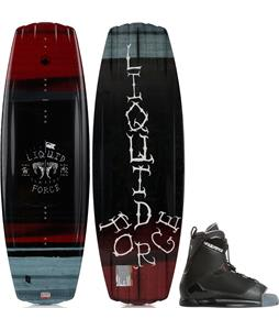 Liquid Force Classic Wakeboard w/ Transit Bindings