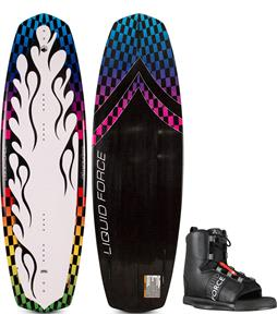 Liquid Force Magnum Wakeboard w/ Element Wakeboard Bindings