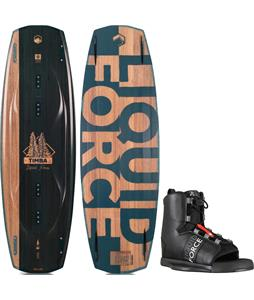 Liquid Force Timba Wakeboard w/ Element Wakeboard Bindings