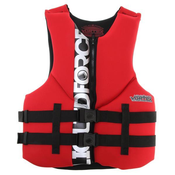 Liquid Force Vortex Cga Wakeboard Vest Black / Red U.S.A. & Canada