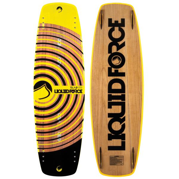 Liquid Force Slab Wakeboard W/ Rant Bindings Wake-package-673