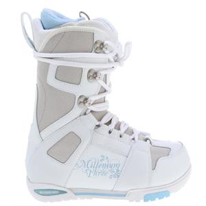 M3 White Snowboard Boots
