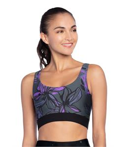 Maaji Enticing Hibiscus Pacific Reversible High Impact Sports Bra