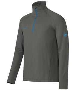 Mammut Snow ML Half Zip Pull Baselayer Top