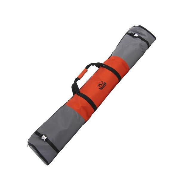 Marker Expanding Ski Bag Rust / Charcoal U.S.A. & Canada