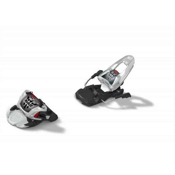 Marker Free Ten Ski Bindings White / Black / Red U.S.A. & Canada