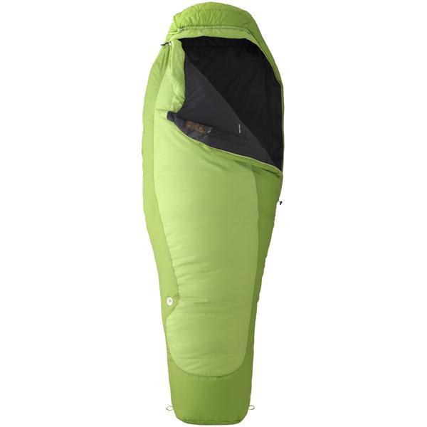 Marmot Trestles 30 Sleeping Bag Abstract Green / Dark Grass Rht U.S.A. & Canada