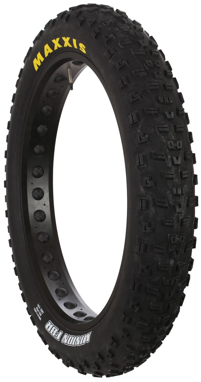 Tires Chart Size >> Maxxis Minion RBR Rear 120 TPI Fat Bike Tire