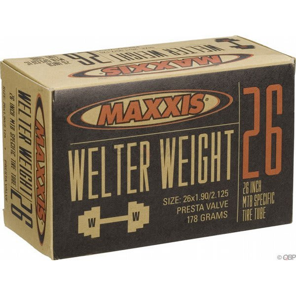 Maxxis Welter Weight Presta Valve Tube 26X1 9 2 125In U.S.A. & Canada
