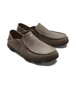 Olukai Moloa Kapa Canvas Shoes Mustang Dark/Wood