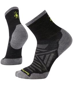 Smartwool PhD Run Cold-Weather Mid Crew Socks