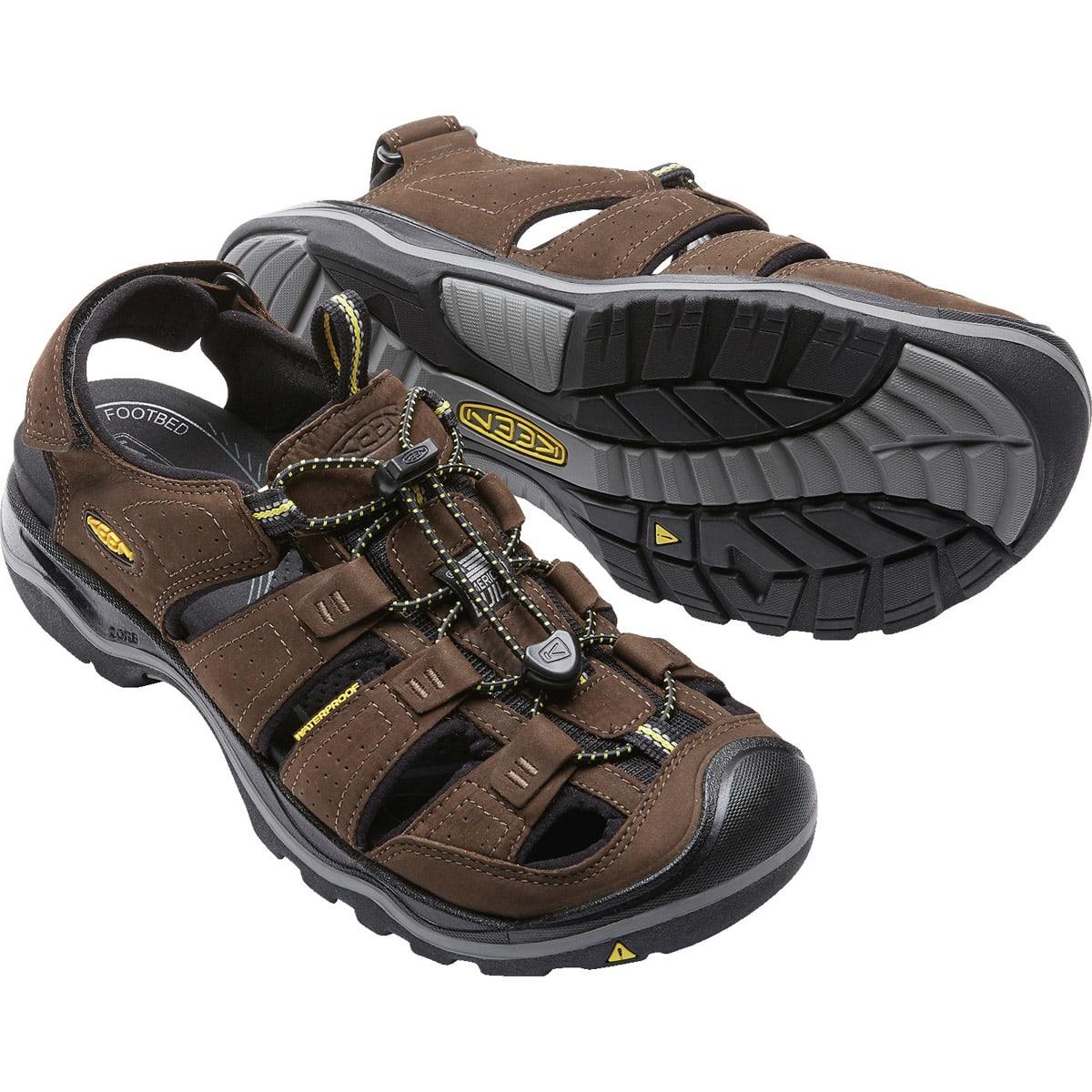 KEEN SANDALS Men's RIALTO BISON BLACK Size 10
