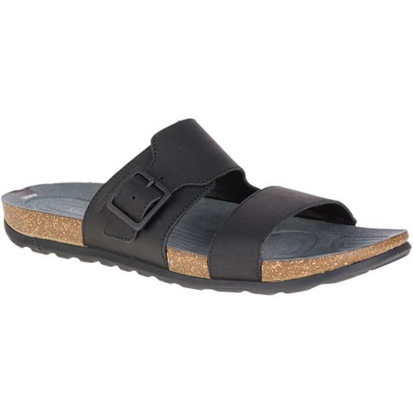 194c06564a02 Merrell Downtown Slide Buckle Sandals