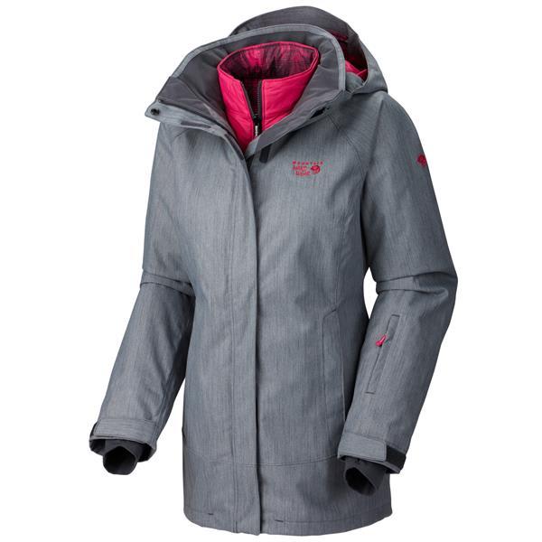 Mountain Hardwear Snowburst Trifecta Redux Ski Jacket Graphite U.S.A. & Canada