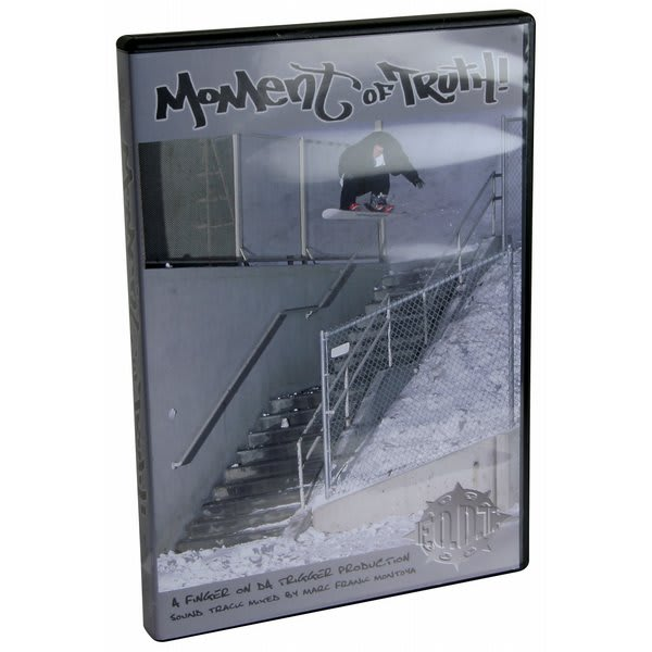 Moment Of Truth Snowboard Dvd U.S.A. & Canada