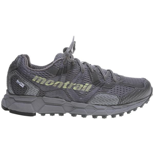 Montrail Bajada Outdry Hiking Shoes Titanium / Neon Light U.S.A. & Canada