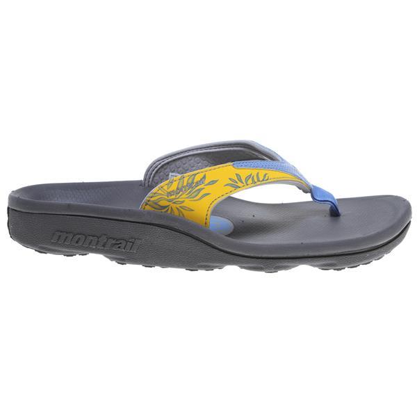 Montrail Molokini Sandals Bluestreak / Yellow U.S.A. & Canada