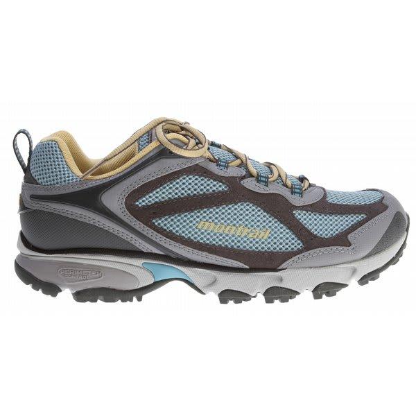 Montrail Sabino Trail Hiking Shoes Blue River / Gold Dust U.S.A. & Canada