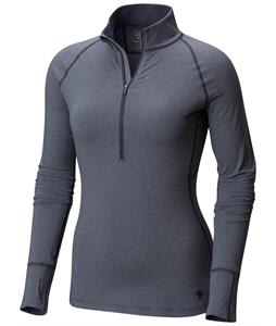 Mountain Hardwear Butterlicious Stripe Half-Zip L/S Baselayer Top