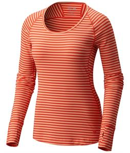 Mountain Hardwear Butterlicious Stripe L/S Crew Baselayer Top