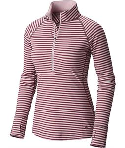 Mountain Hardwear Butterlicious Stripe L/S Half-Zip Baselayer Top