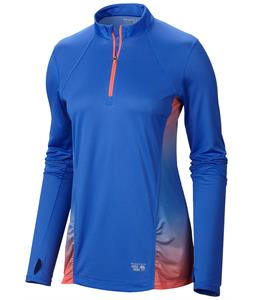 Mountain Hardwear Wicked Electric L/S Zip Performance Shirt