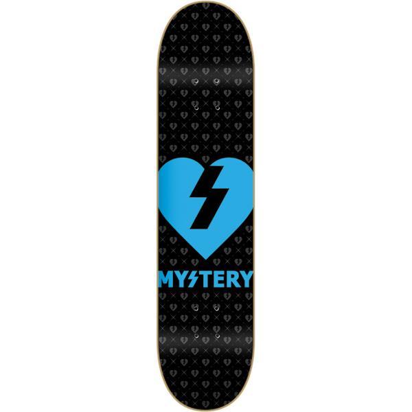 Mystery Blue Heart Skateboard Blue U.S.A. & Canada