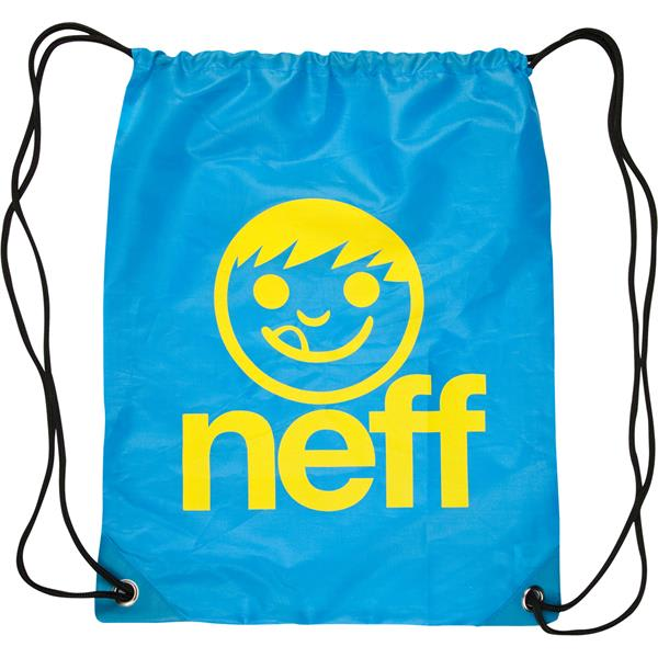 Neff Cinch Sack Backpack Turquoise / Yellow U.S.A. & Canada