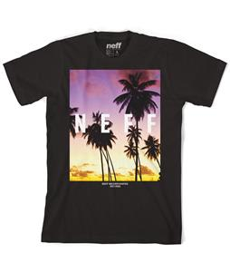Neff Quad Palm Sunset T-Shirt