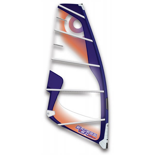 Neil Pryde Excess Windsurfing Sail 6 4 Black Grey U.S.A. & Canada